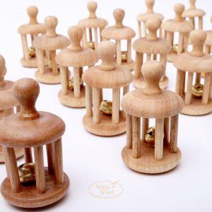 Sonaja-Cascabel-Bebe-Juego-Montessori-Material-Didactico-Desarrollo-Sensorial-Coordinacion-Mano-Madera-Mexico