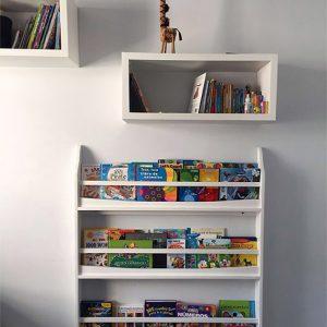 librero-pared